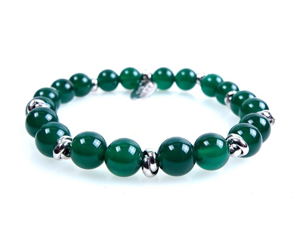 braccialetto pietra verde