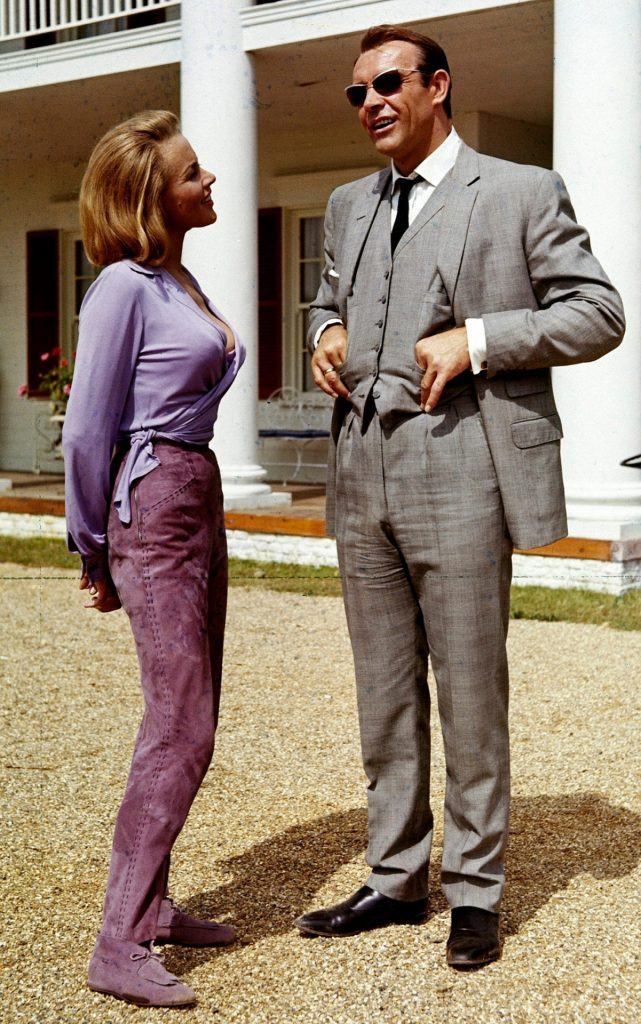 Honor Blackman And Sean Connery. 1964.