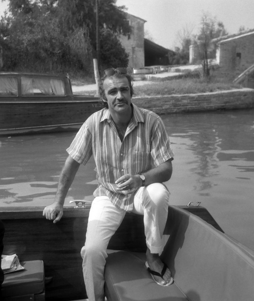 Venezia 1970. Sean Connery.
