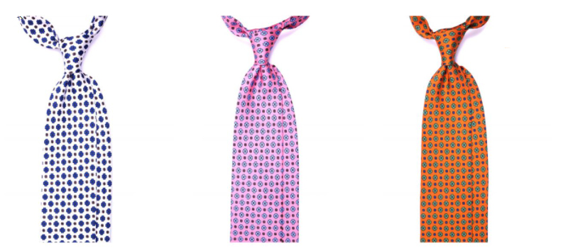 cravatte primaverili