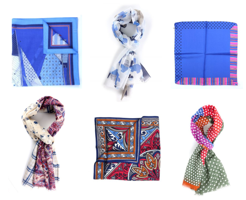 sciarpe, bandane e foulard primaverili