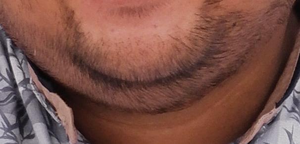 barba corta: meglio evitarla quando si è un pò in sovrappeso