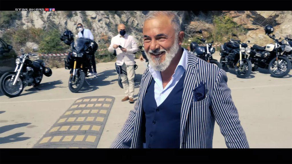 fazzoletto da taschino al the distinguished gentleman's ride