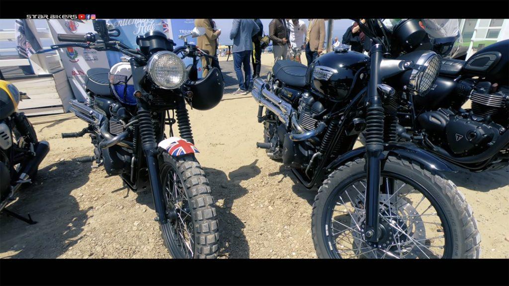 Triumph al The Distinguished Gentleman's Ride 2021 Palinuro